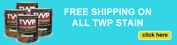 Free Shipping on TWP Stain