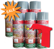 Zero Rust Aerosol 6 Can Special with Free Shipping